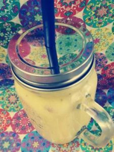 Smoothie mangue amande