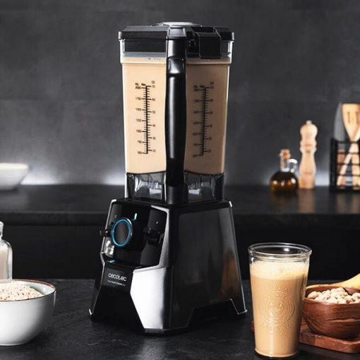 Blender Cecotec Power Black Titanium 2000 Pro 2000W milkshake