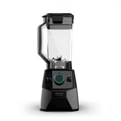 Blender Cecotec Power Black Titanium 2000 Pro 2000W acier inoxydable