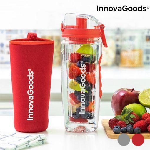 bouteille eau avec filtre infuseur fruits