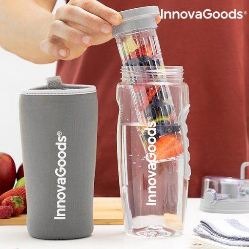 bouteille eau avec filtre infuseur fruits grande capacite