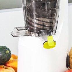 extracteur de jus par pression a froid cecotec juicer compact 4038 bec anti goutte