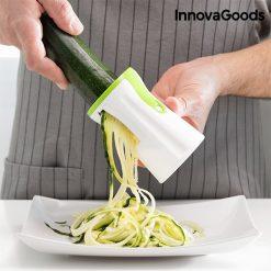 coupe-legumes et presse-agrumes decoupe spirale