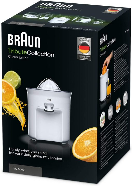 presse-agrume electrique braun cj3050 packaging