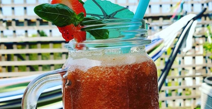 recette smoothie fraise pomme agrumes
