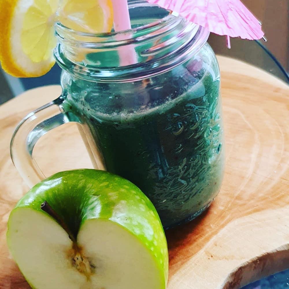 recette smoothie spiruline kiwi pomme