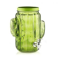 Fontaine à boisson en forme de cactus de biais